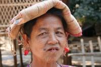 Chin village in Mrauk U