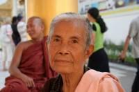 burmese woman with remedy